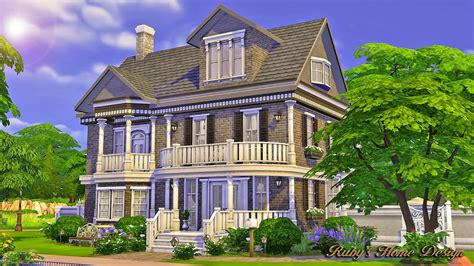 sims  blog  chocolate house  ruby red