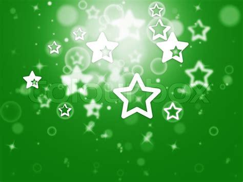 Tapete Leuchtende Sterne by Sternen Hintergrund Zeigt Glitter Sternen Stockfoto