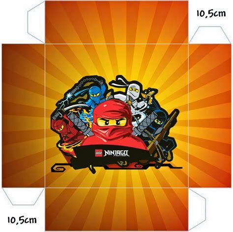 ninjago  printable boxes   fiesta  geeks