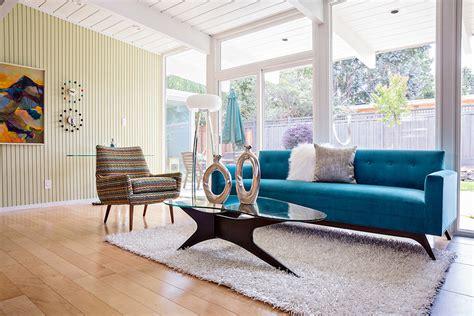 midcentury living room modern sofas living room midcentury with dania furniture blue sofa