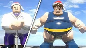 Kingpin vs Lego Blob (LEGO Marvel Super Heroes) - YouTube