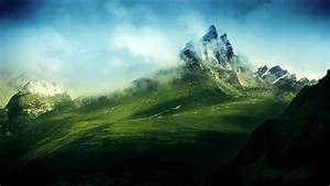 Nature, Mountain, Mist, Wallpapers, Hd, Desktop, And, Mobile