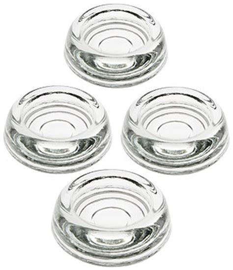set   glass furniture caster cups   diameter house  antique hardware