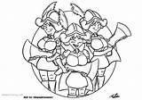 Royale Clash Coloring Pages Musketeers Three Adam Printable sketch template