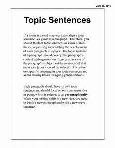 Sentence Writing Paper Forming A Thesis Statement First Grade