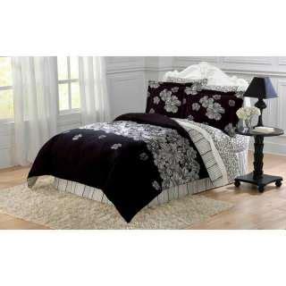 black white comforter set queen quotes