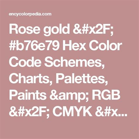 25 best ideas about hex color codes on pinterest color