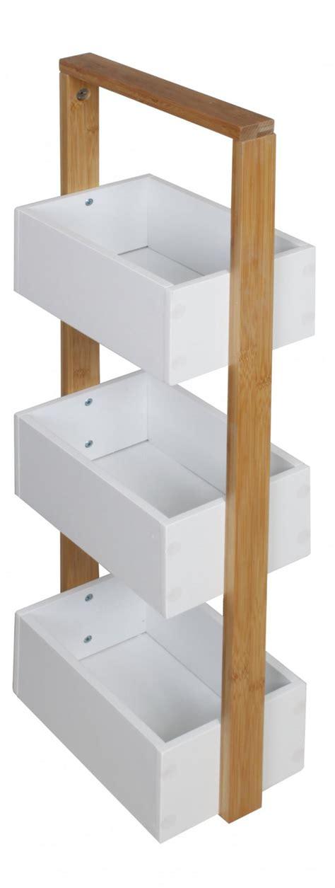 Regale Für Badezimmer by Massiv Holz Bambus Badregal Mit 3 Ablagen Regal Bad