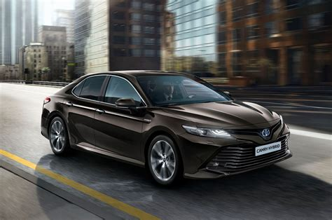 Toyota Camry 2019 by 2019 Toyota Camry Hybrid Set For Europe Automobile Magazine
