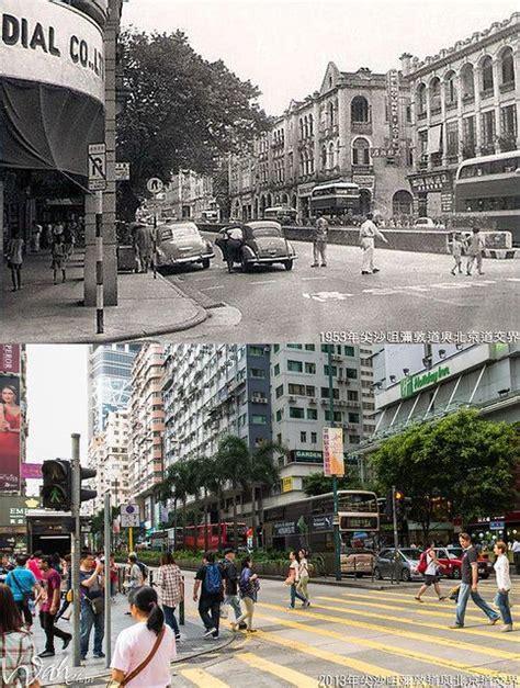 1953年,尖沙咀弥敦道与北京道交界   History of hong kong, Culture travel ...