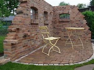 Mauer Im Garten : garten sitzecke mauer garten und bauen ~ Michelbontemps.com Haus und Dekorationen
