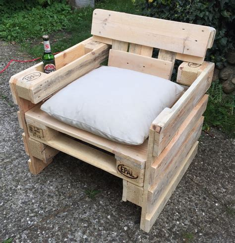 stuhl aus europaletten garten lounge sessel aus europaletten sommer sonne