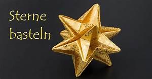 Origami Stern Falten Einfach : sterne basteln zu weihnachten einfache origami sterne ~ Watch28wear.com Haus und Dekorationen