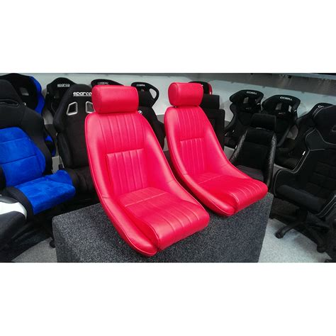 siege seat cobra rs seat with vertical stitching gsm