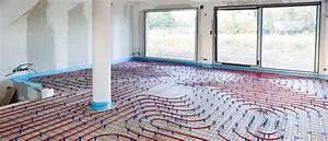 plancher chauffant rafraissant basse temperature pcrbt With parquet sur plancher chauffant basse température