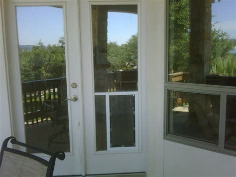 hale pet door hale pet door in glass installation lake