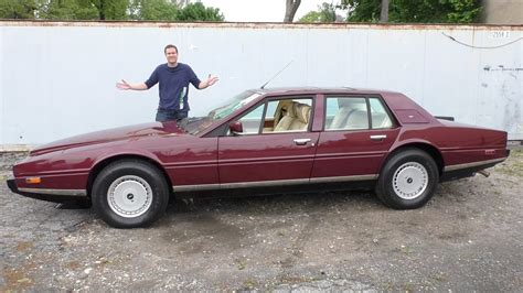 The 0,000 Aston Martin Lagonda Is The Weirdest Luxury