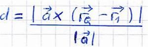 Richtungsvektor Berechnen : abstand punkt gerade ~ Themetempest.com Abrechnung
