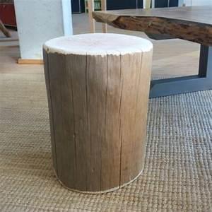 Tabouret Rondin De Bois : mobilier de jardin ext rieur artisans bois morvan ~ Teatrodelosmanantiales.com Idées de Décoration