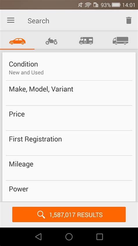 mobile de auto verkaufen mobile de mobile auto b 246 rse 5 42 3 android