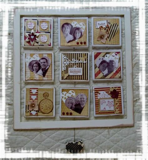 cadre photo de famille cadre deco coeur scrapa b a