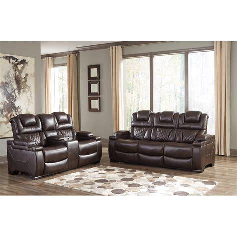 signature design  ashley warnerton reclining living room