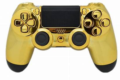 Ps4 Controller Gold Chrome Walmart Transparent Controllers