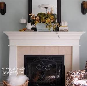 Fall, Mantel, Ideas, -, A, Pop, Of, Pretty, Blog, Canadian, Home, Decorating, Blog