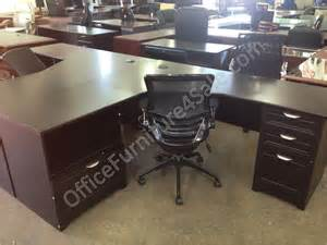 realspace magellan performance outlet collection l desk and hutch 70 1 2 quot h x 70 9 10 quot w x 23 1 5