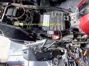 Aneka Alarm Motor  Cara Pasang Alarm Motor Remote Pada