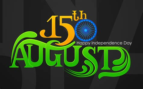 Happy India Independence Day August 15Th Awesome 4K Wide