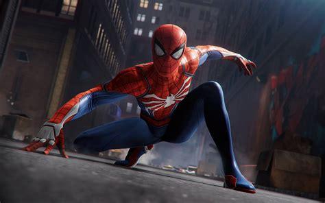 Wallpaper Spider-man, Playstation 4, 2018, 4k, Games, #13334