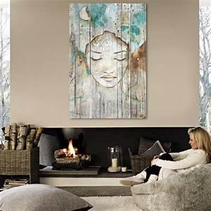 Tableau En Bois Décoration : tableau bois palette r ve de femme esquisse peinture bleu turquoise ~ Teatrodelosmanantiales.com Idées de Décoration