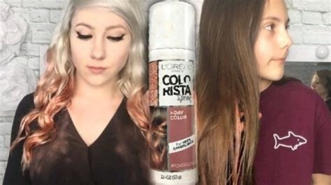 L'oreal Colorista Spray Rose Gold ♡ Blonde And Brunette