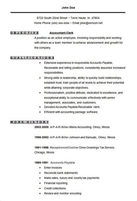 impressive accounting assistant resume