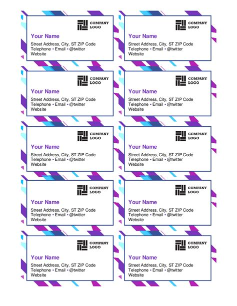 business card templates for word 2016 business card templates 29 free printable word pdf