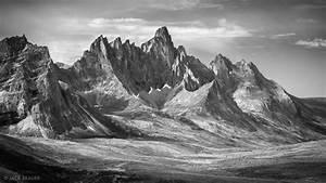Mountains In Black  U0026 White