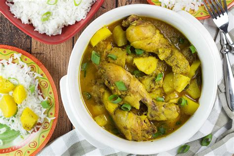 cuisine poulet curry vert curry chicken recipe cooking the globe