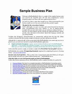 business plan sample business plan for loan application With small business victoria business plan template