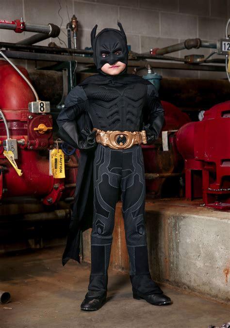 Toddler Deluxe Dark Knight Batman Costume for Kids