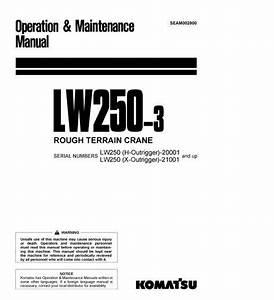 Free Automotive Manuals  Komatsu Lw250