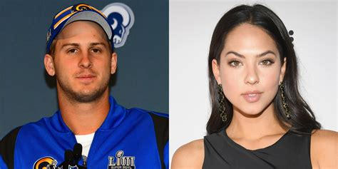 jared goffs rumored girlfriend christen harper
