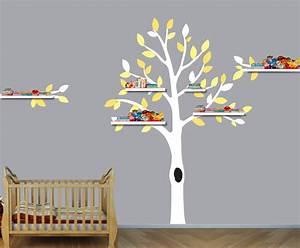 Shelf Tree Decorative Wall Sticker 32719658426