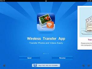 transfer photos from iphone to ipad wirelessly With documents app wifi transfer