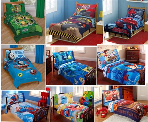 Toddler Boy Bedroom Sets Uk details about 4pc boys toddler bedding set comforter