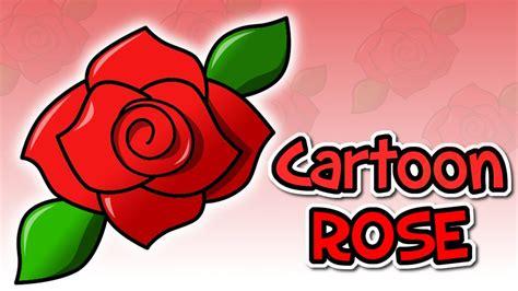 rose cartoon   draw  cartoon rose gimp video