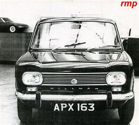 OG | Hillman Imp proposal | Prototype based on 1964 Simca ...