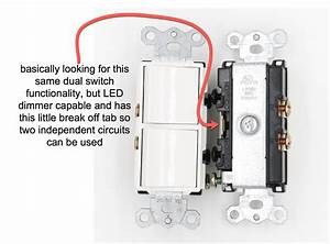 Dual Switch Led Dimmer