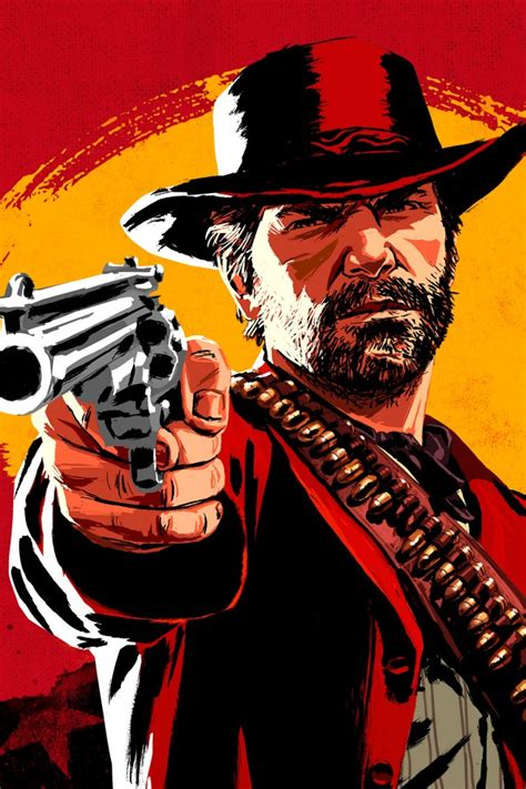 wallpaper red dead redemption  western action games