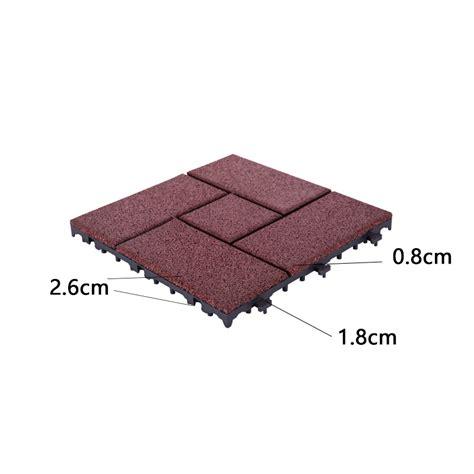 cer patio mats rubber deck balcony tile xj sbr rd003 interlocking